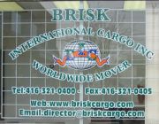 BRISK INTERNATIONAL CARGO INC