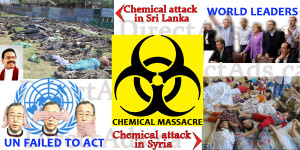 Chemical Attack in Srilanka now in Syria